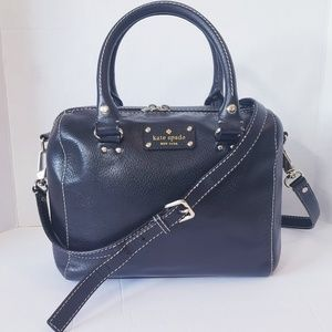 kate spade Black Alessa Wellesley Bag